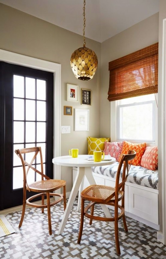 Cute And Cozy Breakfast Nook Decor Ideas Part 53