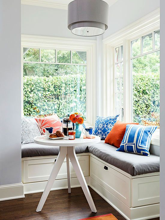 40 Cute And Cozy Breakfast Nook Décor Ideas