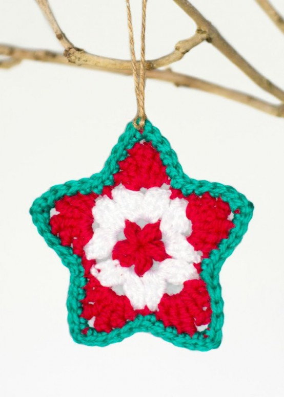 32 Cute And Cozy Knitted Christmas Decorations Digsdigs