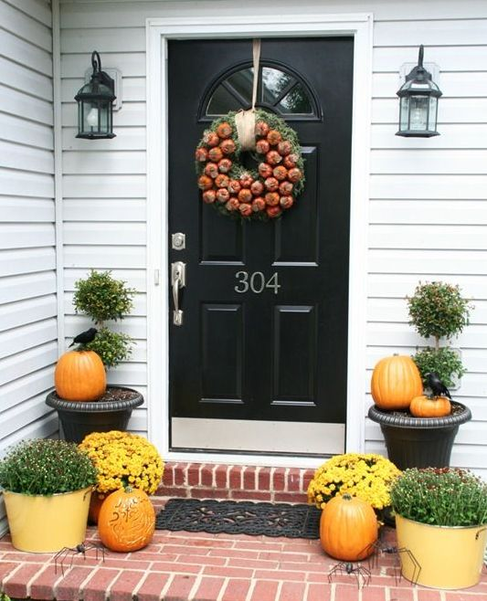 Amazing Fall Door Decoration Ideas Great Pictures