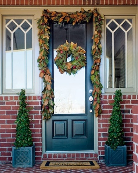 Fall Front Door: 67 Cute And Inviting Fall Front Door Décor Ideas