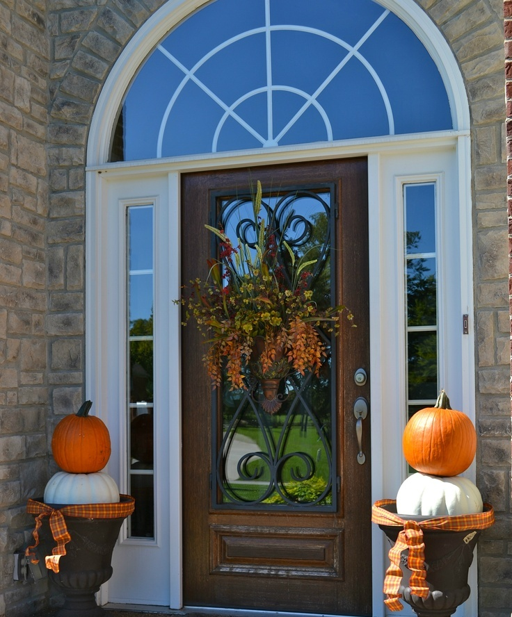 47 cute and inviting fall front door d u00e9cor ideas