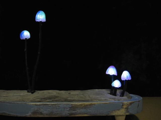 Cute And Whimsy Little Mushroom Lamps