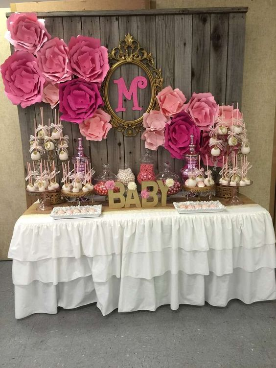49 Cute Baby Shower Dessert Table D 233 Cor Ideas Digsdigs