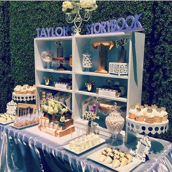 31 cute baby shower dessert table d u00e9cor ideas