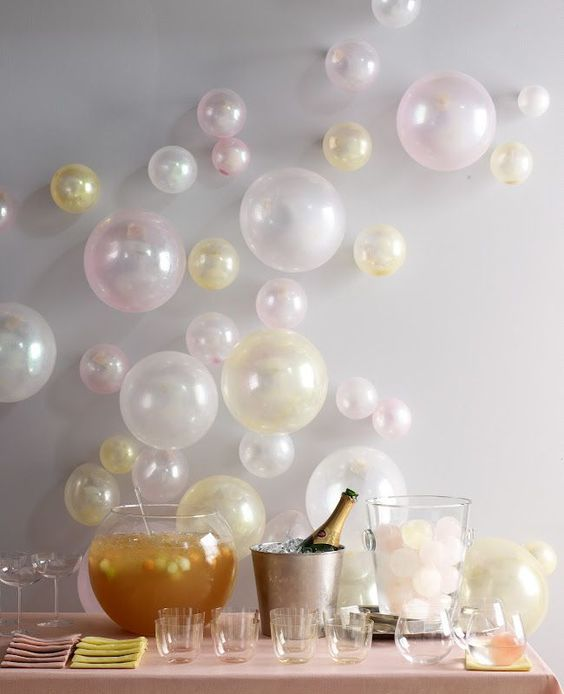 cute balloon décor ideas for baby showers  digsdigs, Baby shower