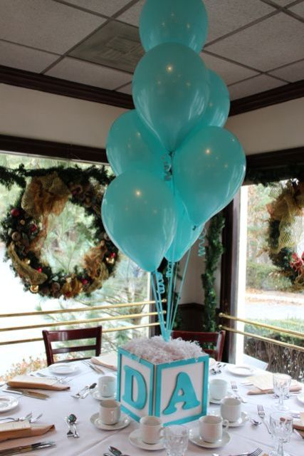 Picture Of cute balloon decor ideas for baby showers  13