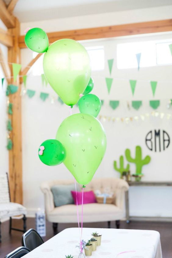 Picture Of cute balloon decor ideas for baby showers  22