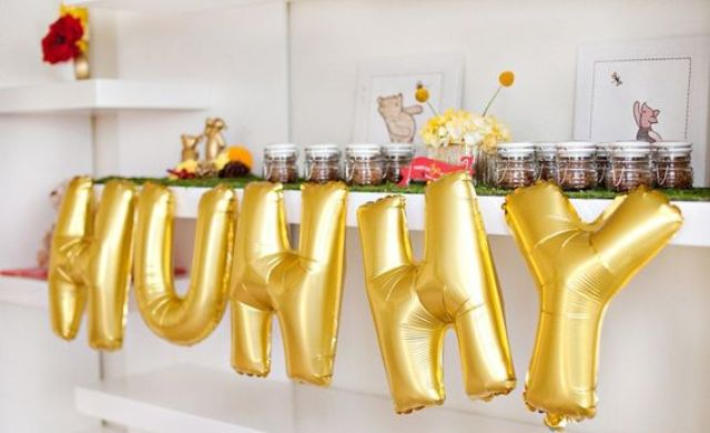 Picture Of cute balloon decor ideas for baby showers  26