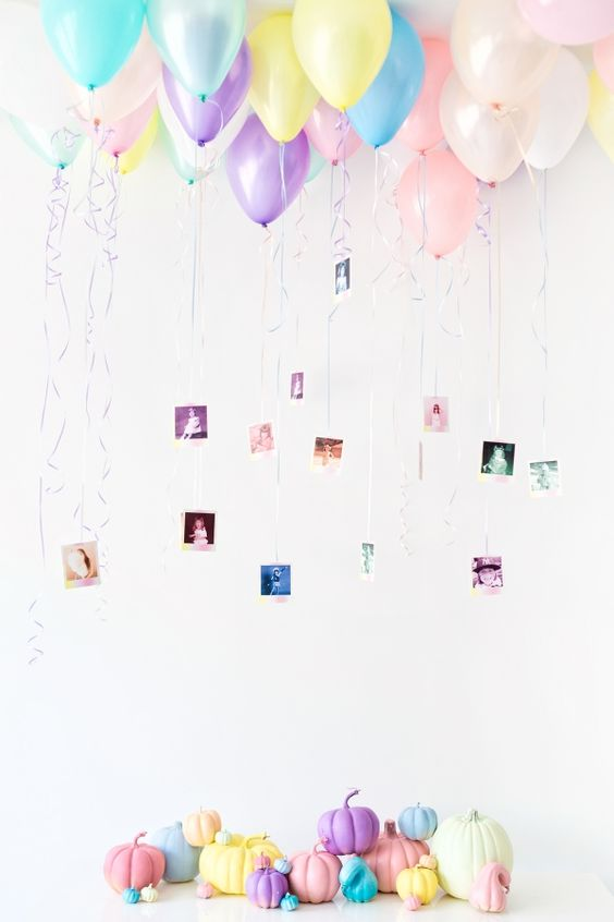 Picture Of cute balloon decor ideas for baby showers  29