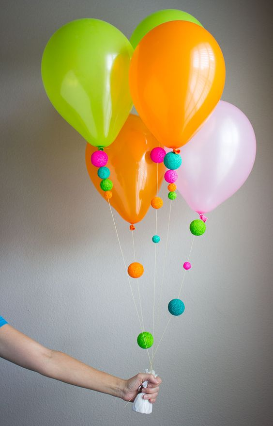 Picture Of cute balloon decor ideas for baby showers  31