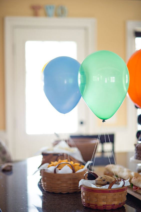 Picture Of cute balloon decor ideas for baby showers  35