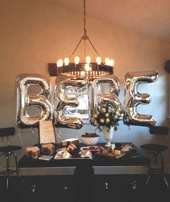 Picture Of cute balloon decor ideas for baby showers  37