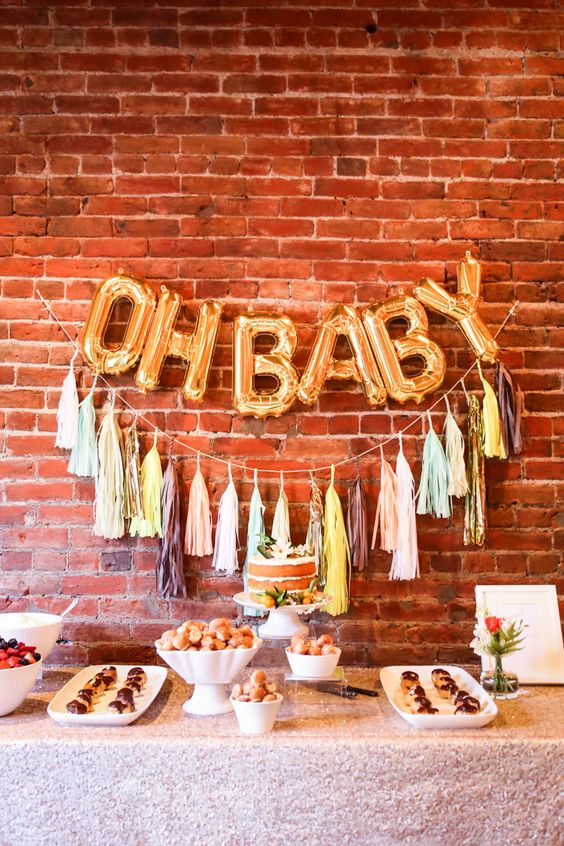 Picture Of cute balloon decor ideas for baby showers  5