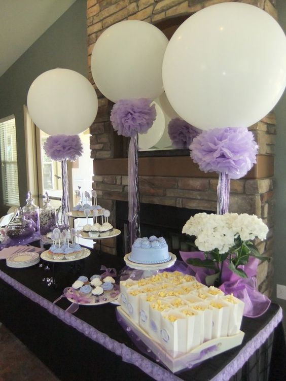 36 cute balloon d cor ideas for baby showers digsdigs for Baby shower modern decoration