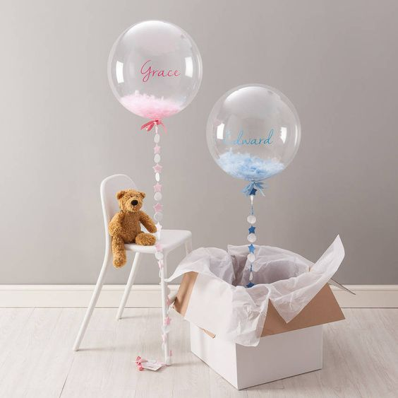 Picture Of cute balloon decor ideas for baby showers  8