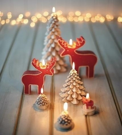 30 Cute Deer Décor Ideas For Cozy Christmas Spaces
