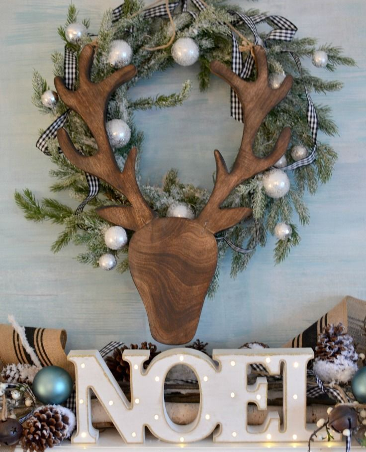 Home Made Modern Craft Of The Week 2 Rustic Christmas Stars: 30 Cute Deer Décor Ideas For Cozy Christmas Spaces
