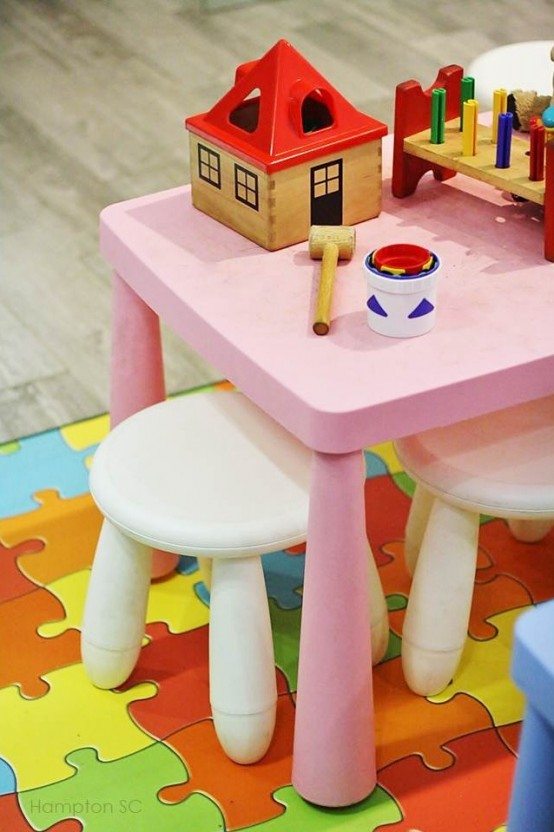 Cute Ikea Mammut Stools Ideas For Kids Rooms