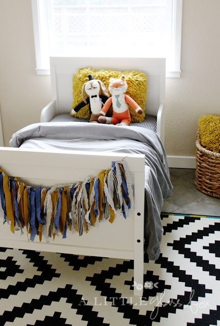 21 cute ikea sundvik bed and crib ideas to try digsdigs. Black Bedroom Furniture Sets. Home Design Ideas
