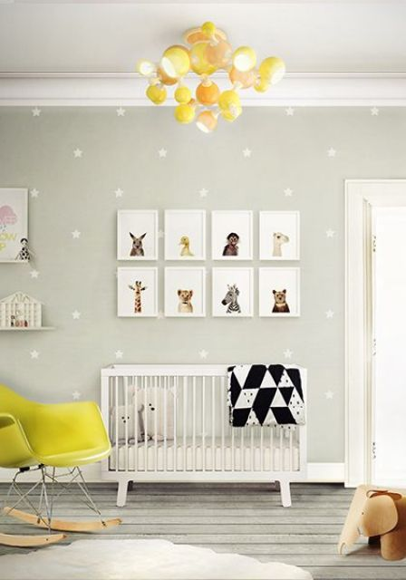 Picture Of cute mid century modern kids rooms decor ideas  10