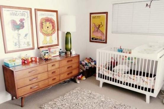 Mid Century Modern Nursery Ideas