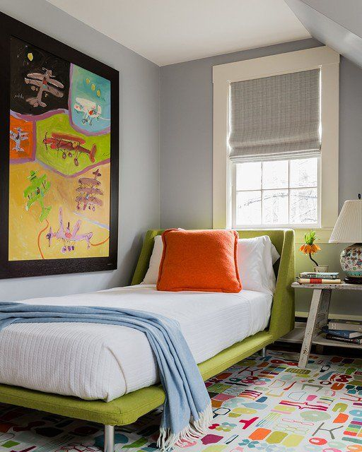 31 Cute Mid Century Modern Kids Rooms Dcor Ideas DigsDigs