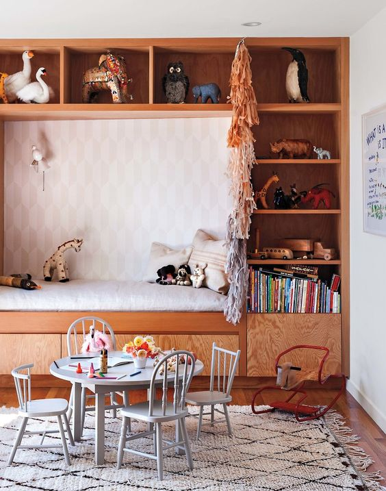 Picture Of cute mid century modern kids rooms decor ideas  20