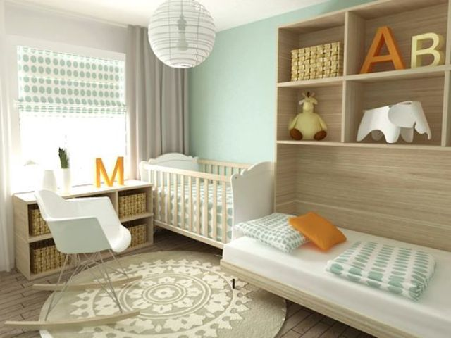 Picture Of cute mid century modern kids rooms decor ideas  24