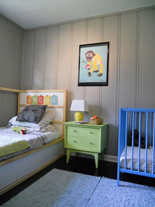 31 cute mid-century modern kids' rooms décor ideas - digsdigs