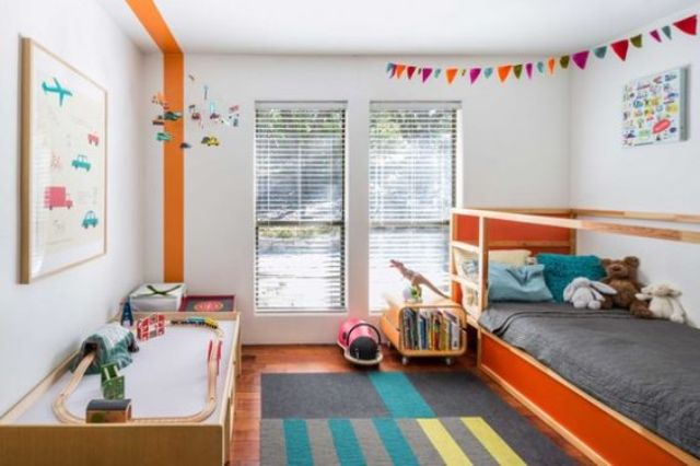 Picture Of cute mid century modern kids rooms decor ideas  28