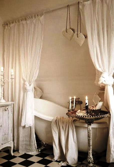 Trend  Lovely And Inspiring Shabby Chic Bathroom D cor Ideas