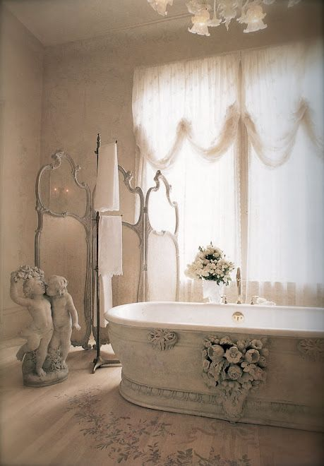 Chic Bathroom Decor 28 lovely and inspiring shabby chic bathroom décor ideas - digsdigs
