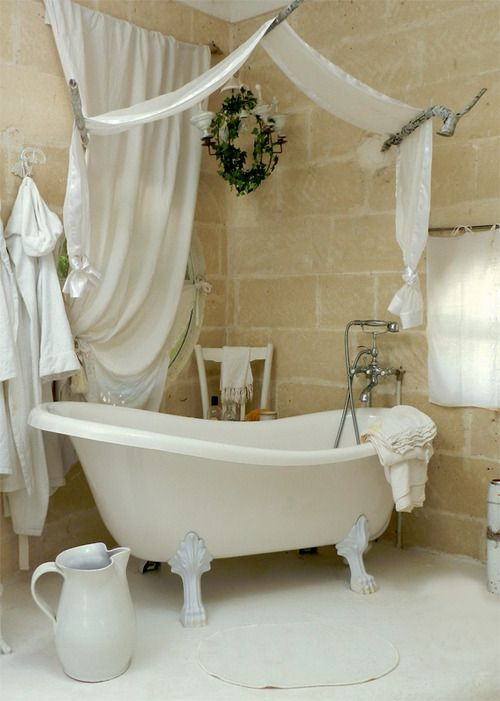 Awesome Cute Shabby Chic Bathroom Decor Ideas