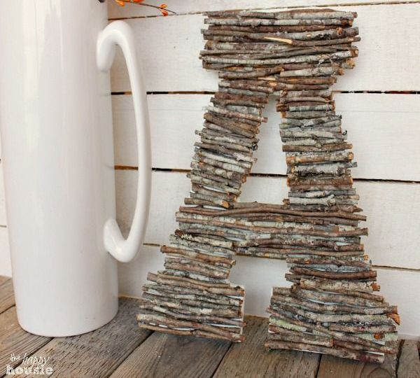 Touches Of Nature 35 Cute Twig Fall Dcor Ideas DigsDigs