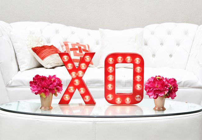 Picture Of cute valentines day marquee ideas for your home  14