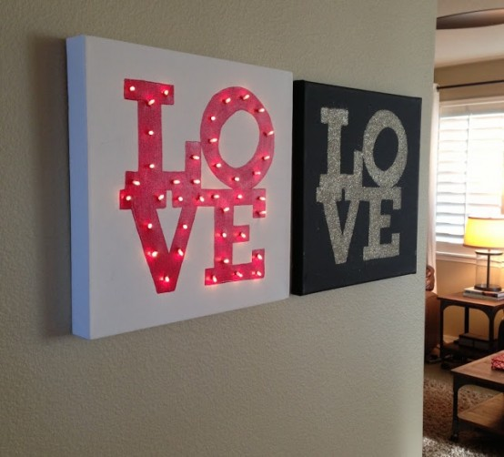 Cute Valentine's Day Marquee Ideas For Your Home