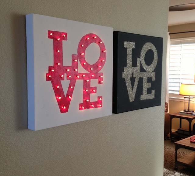 Picture Of cute valentines day marquee ideas for your home  15