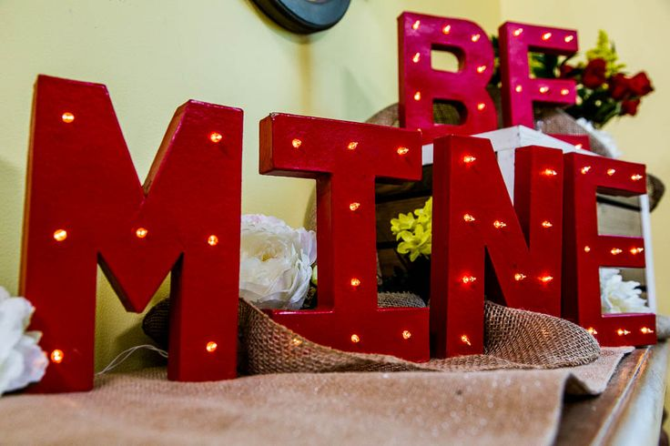 Picture Of cute valentines day marquee ideas for your home  24