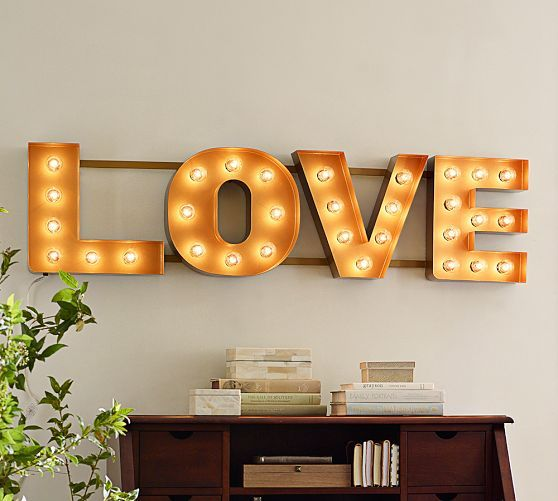 Picture Of cute valentines day marquee ideas for your home  26