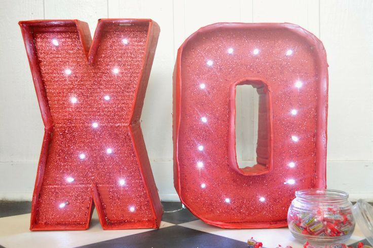 Picture Of cute valentines day marquee ideas for your home  6