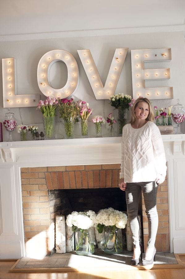 Picture Of cute valentines day marquee ideas for your home  9