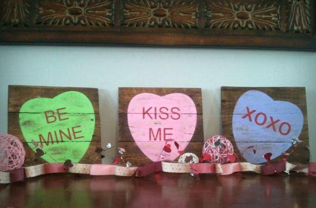 Valentine Decoration Crafts