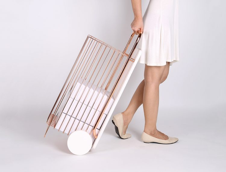 Cute Wago Trolley Table For Indoors And Outdoors