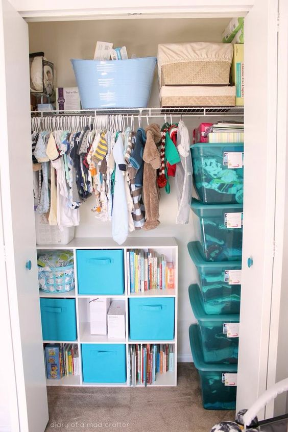 Cute Nurseries 35 cute yet practical nursery organization ideas - digsdigs