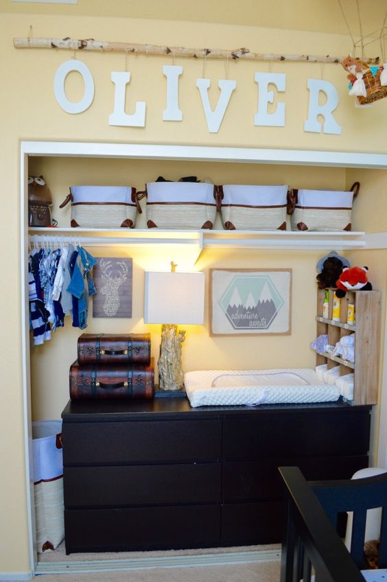35 Cute Yet Practical Nursery Organization Ideas - DigsDigs