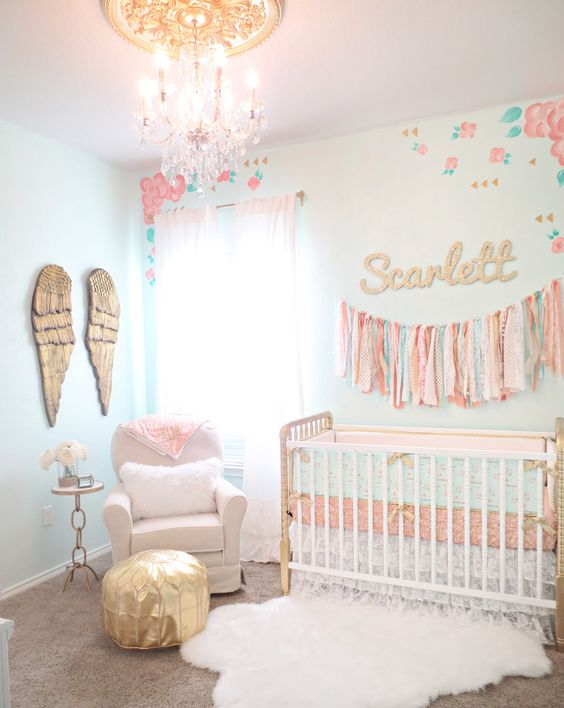 Picture Of cutest and most chic girl nursery designs to get inspired  2