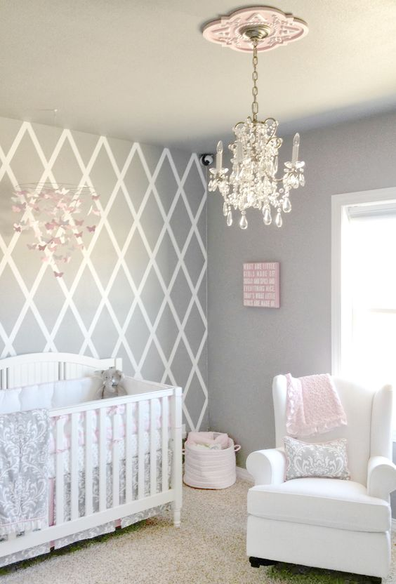 Design Of Baby Room: 31 Cutest And Most Chic Girl Nursery Designs To Get