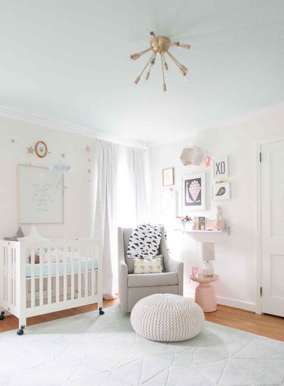 Picture Of cutest and most chic girl nursery designs to get inspired  25