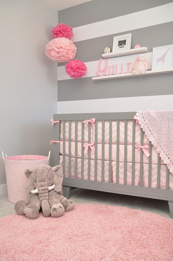Picture Of cutest and most chic girl nursery designs to get inspired  8